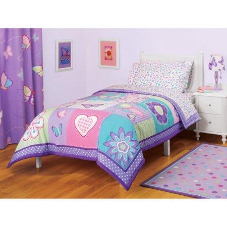 American Kids Butterfly Comforter Twin