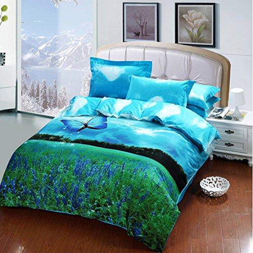Butterfly bedding set Girls Butterfly comforter set Queen Size