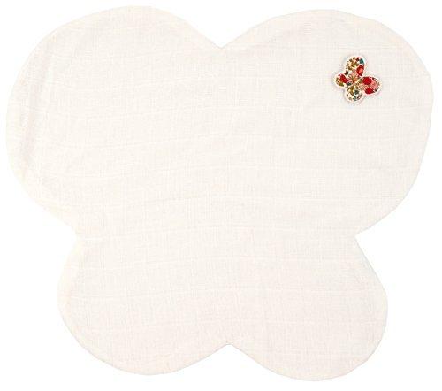 Trousselier Muslin Butterfly Comforter Red Flowers by Trousselier