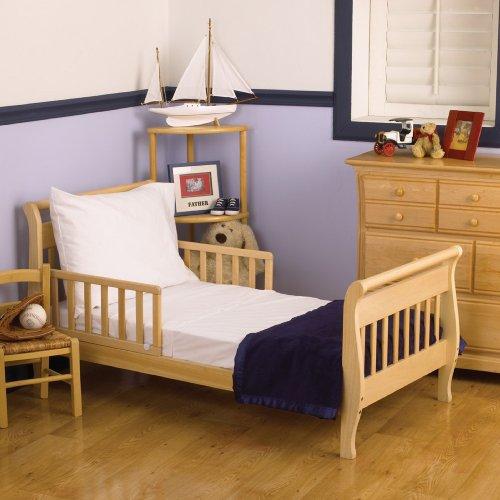 Nojo 3 Piece Toddler Sheet Set White