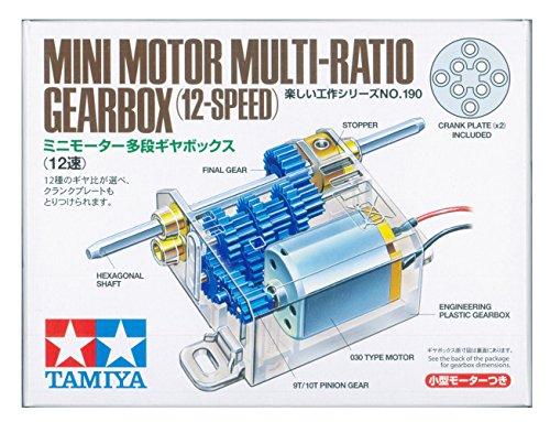 Tamiya Mini Motor Multi Ratio Gearbox 12-Speed TAM70190