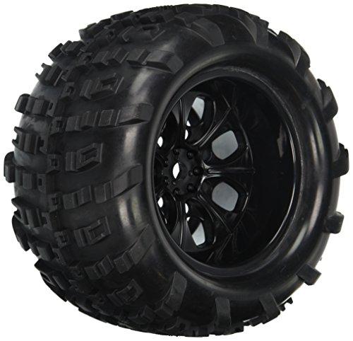 Redcat Racing Wheels Complete 10 mm Black 2 Piece Vehicle