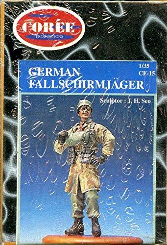 Coree Productions 135 German Fallschirmjager Resin Figure Model Kit CF15