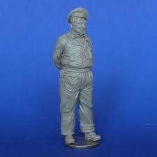 MasterClub 132 54mm Soviet Air Force Mechanic -Resin Figure Model Kit MCF54002