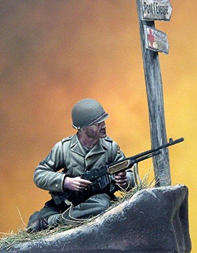 Pegaso Models 135 WWII US Ranger 1944 Resin Figure Model Kit PT-037