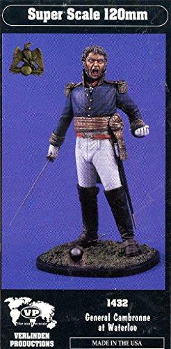 Verlinden 120mm General Cambronne at Waterloo Resin Figure Model Kit 1432