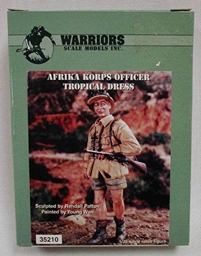 Warriors 135 Afrika Korps Officer Tropical Dress Resin Figure Model Kit 35210