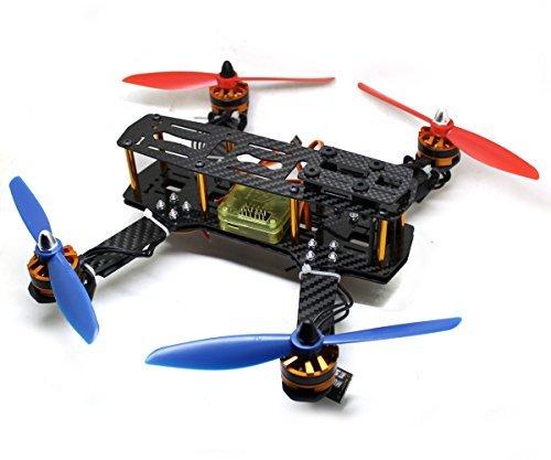 ADQmotor Section Board CC3D 6x45 Propeller 12A ESC 2204 2300KV Motor 250 Carbon Fiber Quadcopter Kit Frame