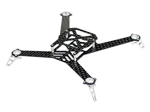 Microheli AluminumCarbon Fiber Quadcopter Kit - BLADE NANO QXFPV