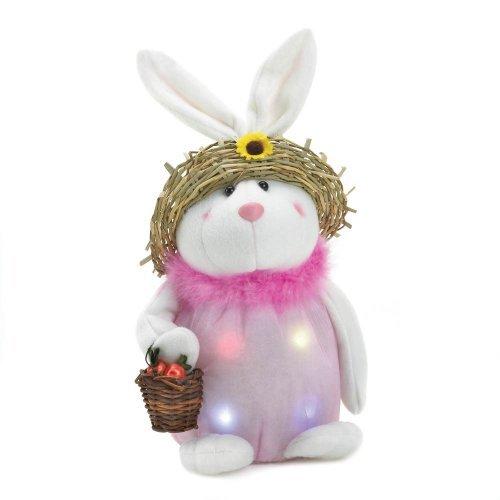 Home Locomotion Pink Bunny Light-Up Plush