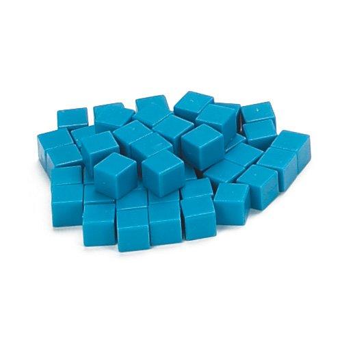 EAI Education Base Ten Units Blue Plastic - Set of 1000
