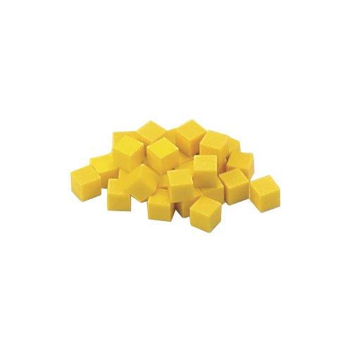EAI Education Base Ten Units Yellow Plastic - Set of 1000
