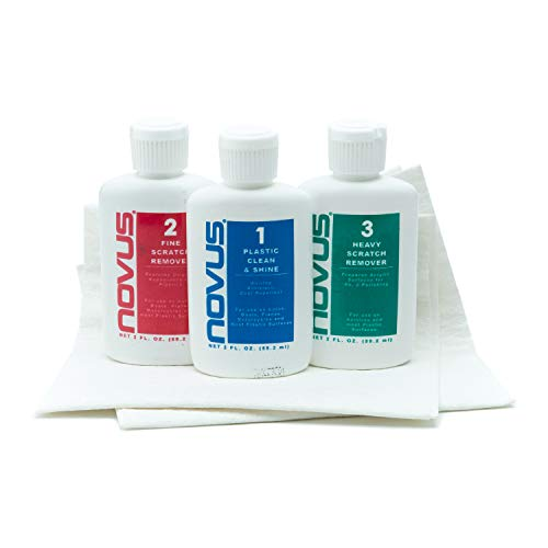 Novus Plastic Polish Cleaning Set - 2 oz