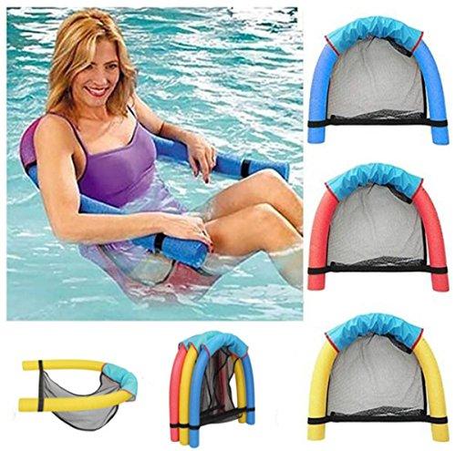 Anyixuan Big Buoyancy Foam Stick Swimming Pool Sling Mesh Beach Float Chair