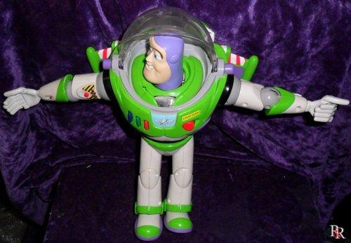 Disney Pixar Toy Story 2 Flight Control Talking Buzz Lightyear 12 Action Figure 1999 Mattel