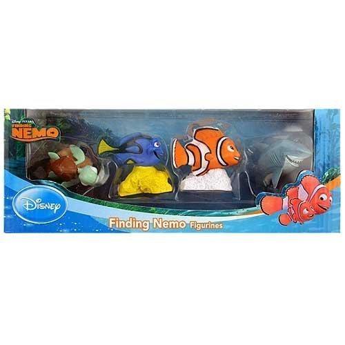 Beverly Hills Teddy Bear Company Finding Nemo Toy Figure 4-Pack by Beverly Hills Teddy Bear Company by Beverly Hills Teddy Bear