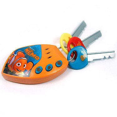 Disney Finding Nemo Toy Car Alarm Key Set with Sounds