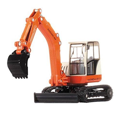 Remeehi Metal Construction Truck Digger Toy Metal Loader Backhoe Dozer Model