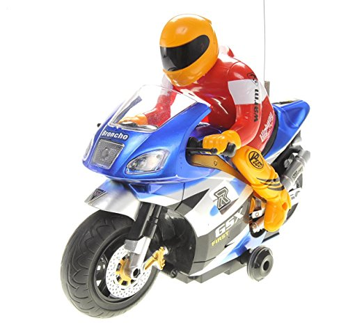 PowerTRCÂ RC Motorcycle Car Toy Blue