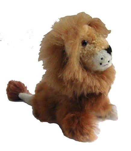 Alpakaandmore Baby Alpaca Fur Lion Toy Hand Made 11 Inch