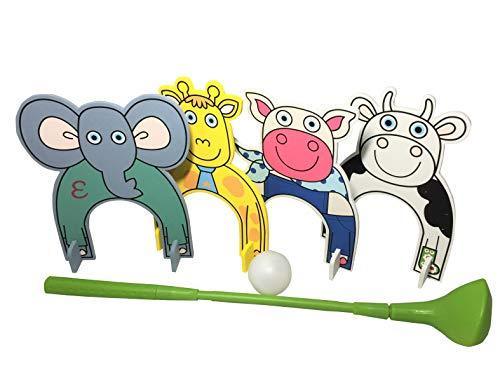 Plastic Golf Set for Kids having Animal Theme