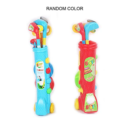 TY-LOPIU Kids Golf Set Outdoors Toy Plastic Mini Putter Golf Club Toy Funny Sports Game