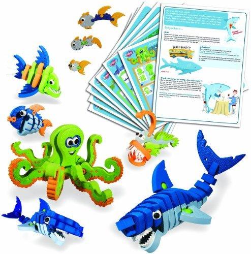 Bloco Toys - Marines Creatures Scholastic set parallel import goods