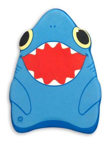 Melissa Doug Sunny Patch Spark Shark Kickboard - Learn-to-Swim Pool Toy