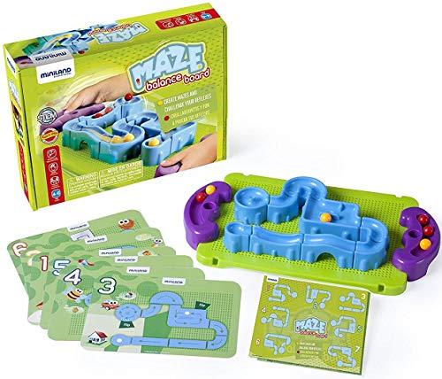 Miniland Maze Balance Board Marble Game