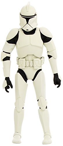 Sideshow Collectibles Militaries of Star Wars Deluxe 12 Inch Action Figure Republic Clone Trooper