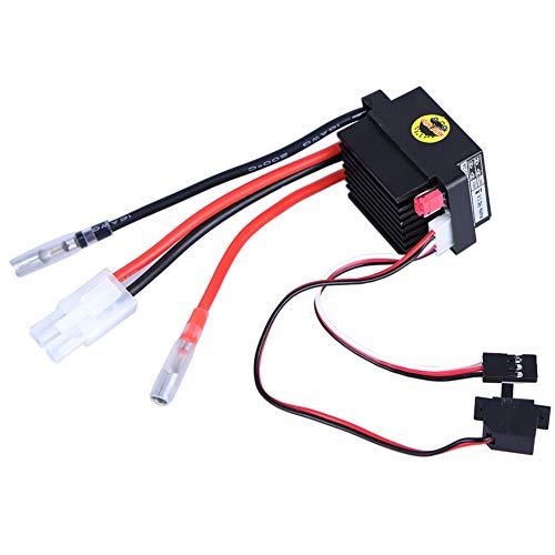 Brushed Motor Speed Controller 6-12V ESC 320A Mini Brushed Motor for RC Boat Car Speed Controller Parts Black