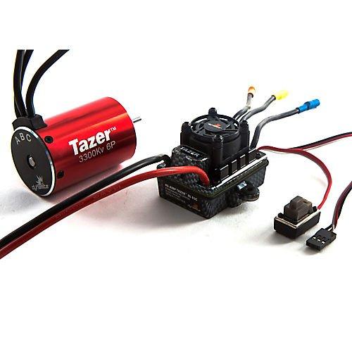 Dynamite S0600 Tazer 110 6-pole 3300Kv waterproof ESCMotor Combo V2