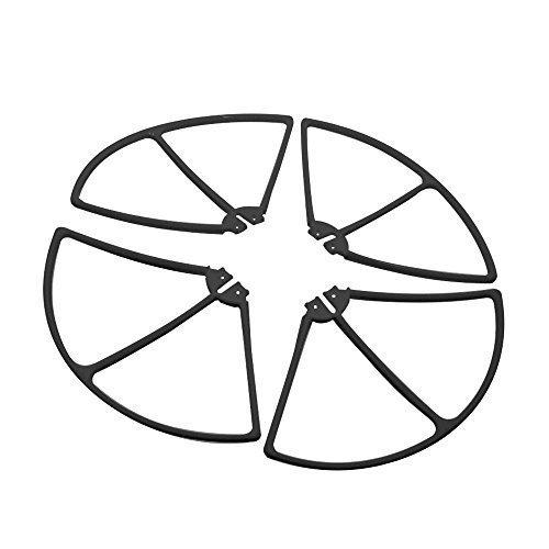Blomiky Syma X8HC X8HW X8HG X8C X8W X8G RC Drone Propeller Protector Frames Black