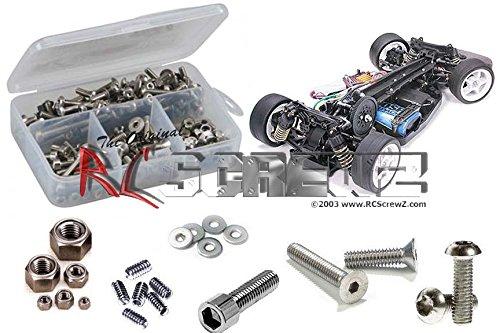 RCScrewZ Tamiya TA04-S Stainless Steel Screw Set Kit tam006