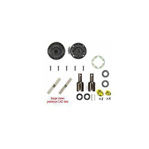 RC TA06 Steel Gear Diff Unit - Rear