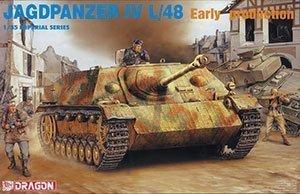 9021 135 Jagdpanzer IV L48 Early Version by Dragon Models USA