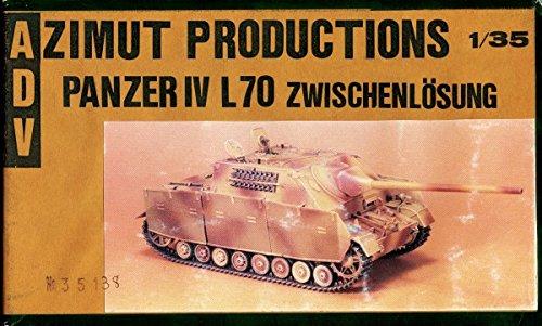 ADV  Azimut 135 Jagdpanzer IV L70 Conversion Resin Kit AZI35138
