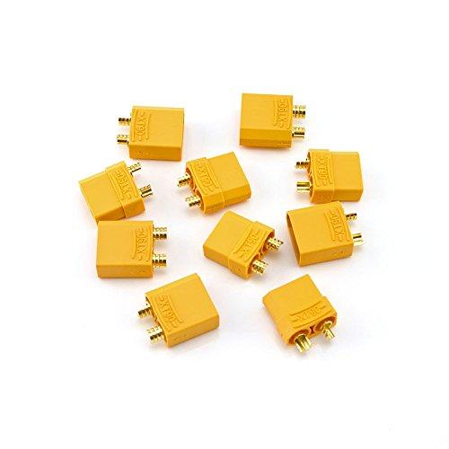 HobbyStar XT90 LiPo Battery Connectors 5 Sets Male and Female Plugs