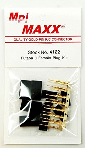 Futaba J Female Plug Kit 4122
