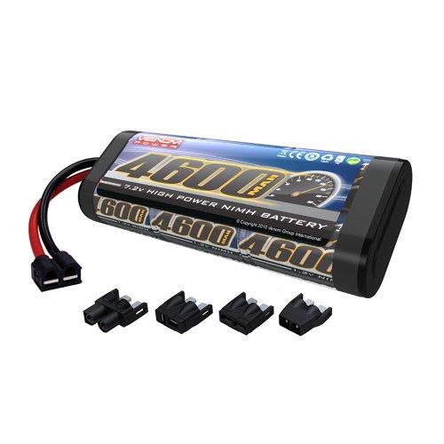 Venom NiMH Battery for Traxxas Blast Race Boat 72 4600mAh 6-Cell with Universal Plug