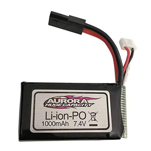 Leoie 74V 1000MAH74V 500MAH Lipo Battery for XLH Xinlehong 9130 9136 9137 Q901 Q902 Q903 116 24G RC Car Parts 74V 1000mAh
