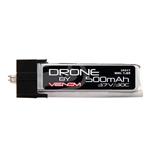 Venom 30C 1S 500mAh 37V LiPo Drone Battery with E-Flite MCPX Plug