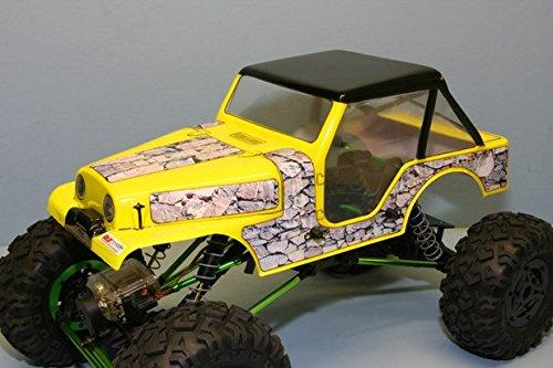 RJ SPEED 1024 70S Outlaw Rocker Crawler Body 060 RJSC1024