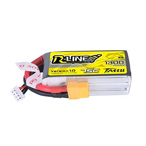 Tattu R-Line 111V 1300mAh 75C 3S LiPo Battery Pack with XT60 Plug for FPV Racing