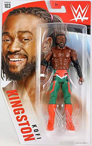 Kofi Kingston - WWE Series 103 Mattel Toy Wrestling Action Figure