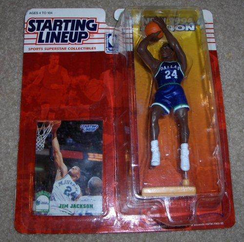 1994 Jim Jackson NBA Starting Lineup Figure