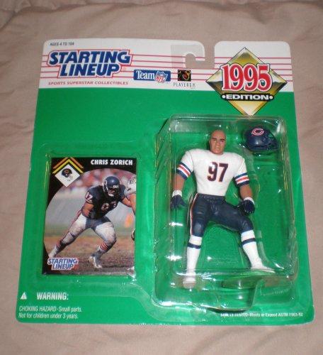 1995 Chris Zorich NFL Starting Lineup Figure
