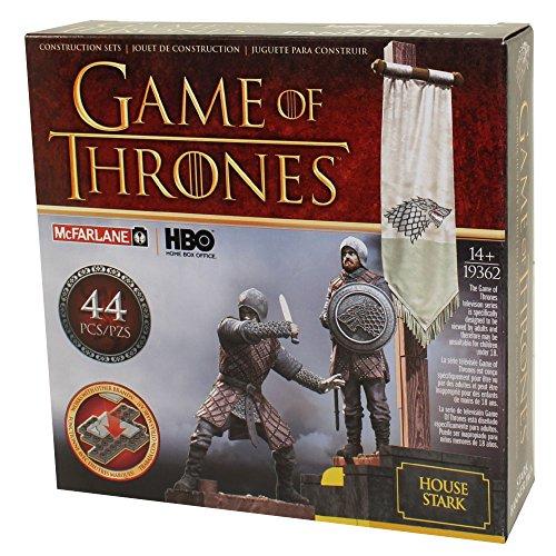 McFarlane Toys Game of Thrones Stark Banner Pack Construction Set