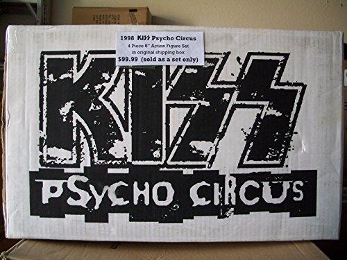 Todd Mcfarlane Toys Kiss Psycho Circus New Boxed Set 95115 Action Figures Kiss