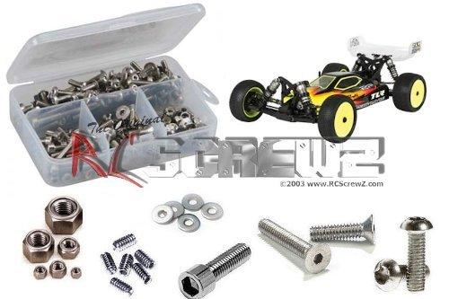 RCScrewZ Team Losi 22-4 4wd Buggy Stainless Steel Screw Kit los072